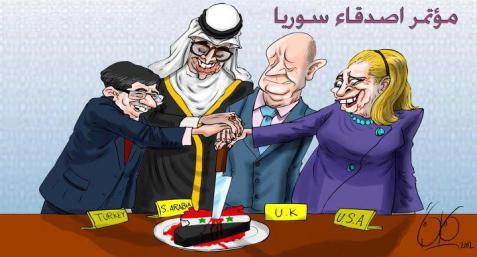 Afbeeldingsresultaat voor westerse media propaganda tegen syrie