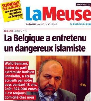 Belgium hosts Tunisian islamist