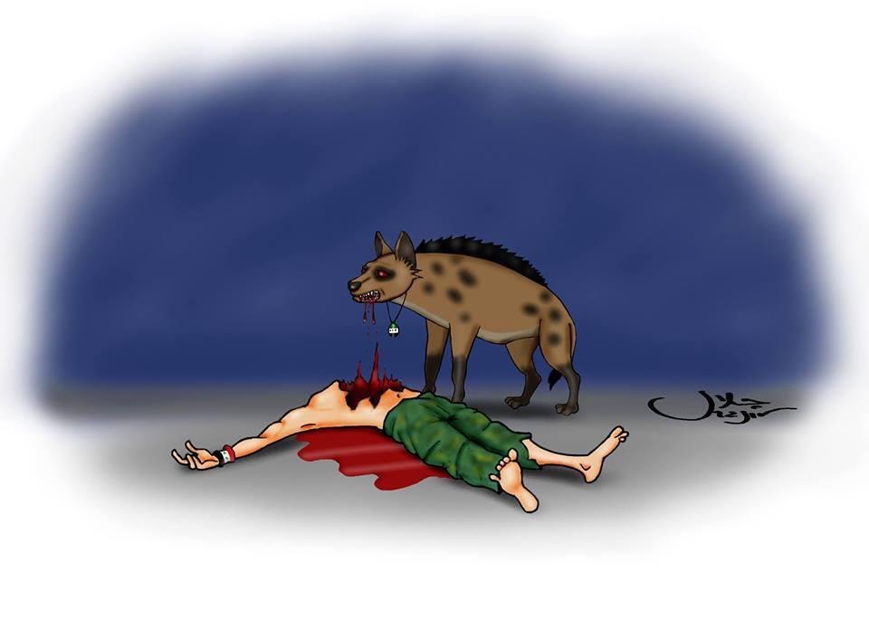 Afbeeldingsresultaat voor rivaliserende terroristen in Syrie cartoon