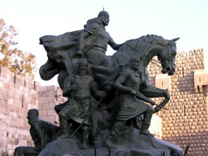 Standbeeld_Saladin_Damascus