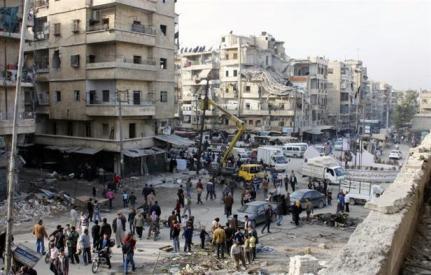 aleppo-airstrik