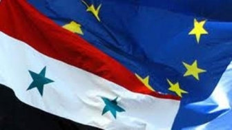 Syria-EU_flags