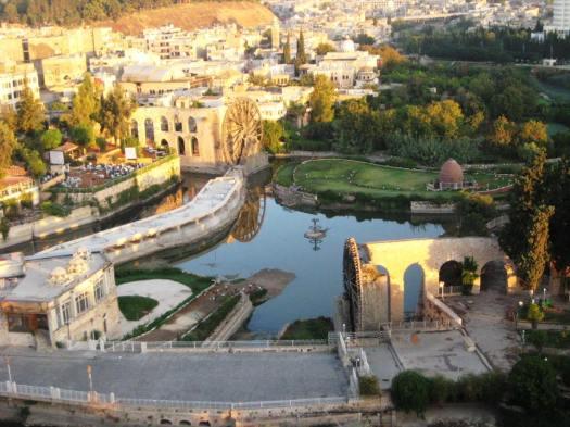 The city of Hama, Syria