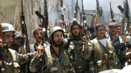 Syrische troepen zijn erin geslaagd om de volledige controle over vier gebieden te verkrijgen in de noordelijke provincie Aleppo na zware gevechten met de door het buitenland gesteunde rebellen.
