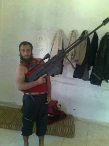 Khaled Omar Daboul, een van de gevaarlijkste sluipschutter-terroristen in Idlib, werd gedood door het Syrische nationale leger (SNL).