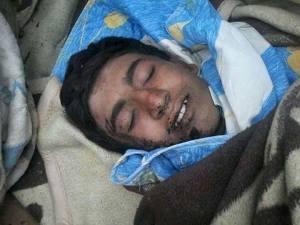 De jonge Turkmeen Suleyman Krik werd op 8 april 2014 gedood nabij de Salma bergen, ten zuidwesten van Kesab in Lattakia.