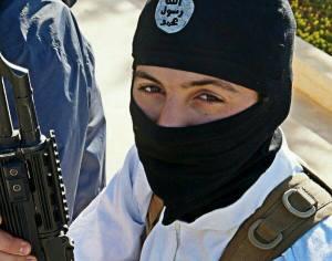 Nederlandse jihadist op het platteland van Aleppo in 2014.