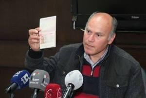 De Syrische autoriteiten konden de Oostenrijkse burger Anton Sandrer bevrijden uit de handen van zijn ontvoerders in de wijk al-Waar in de stad Homs. - http://sana.sy/eng/337/2014/04/11/538474.htm