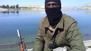De jihadist Abu Isa Andaluzi, die beweerde 'een voormalige voetbalspeler van Arsenal te zijn', zorgde voor opschudding op de sociale media.