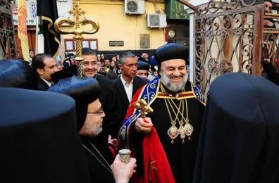 De nieuwe Syrisch-orthodoxe patriarch van Antiochië, Ignatius Aphrem II Karim.