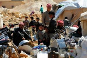 Twintig Syrische vluchtelingenfamilies keerden terug naar hun stad Flita, nabij Yabroud, in de Qalamoun regio op het platteland van Damascus, nu de regio daar opnieuw veilig en stabiel is.