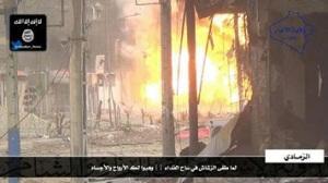 Bij een terreuractie van een Marokkaanse mujahideen van de 'Islamitische Staat van Irak en Sham' (ISIS) liet Abu Ayoub al-Maghribi een vrachtwagen ontploffen in de Iraakse provincie Anbar en doodde daarmee 40 leden van de Swat of de Iraakse elitetroepen en vernietigde zeven militaire voertuigen.