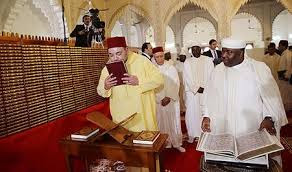 De Marokkaanse koning Mohamed VI
