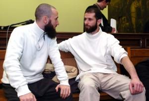 De Frans-Algerijnse jihadistr Raphaël Gendron (links op de foto).