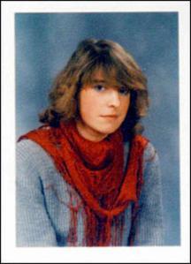 Kamikaze Muriel Degauque, die zichzelf in 2005 in Irak opblies.