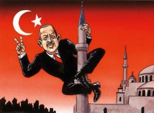 De Turkse president Erdogan.